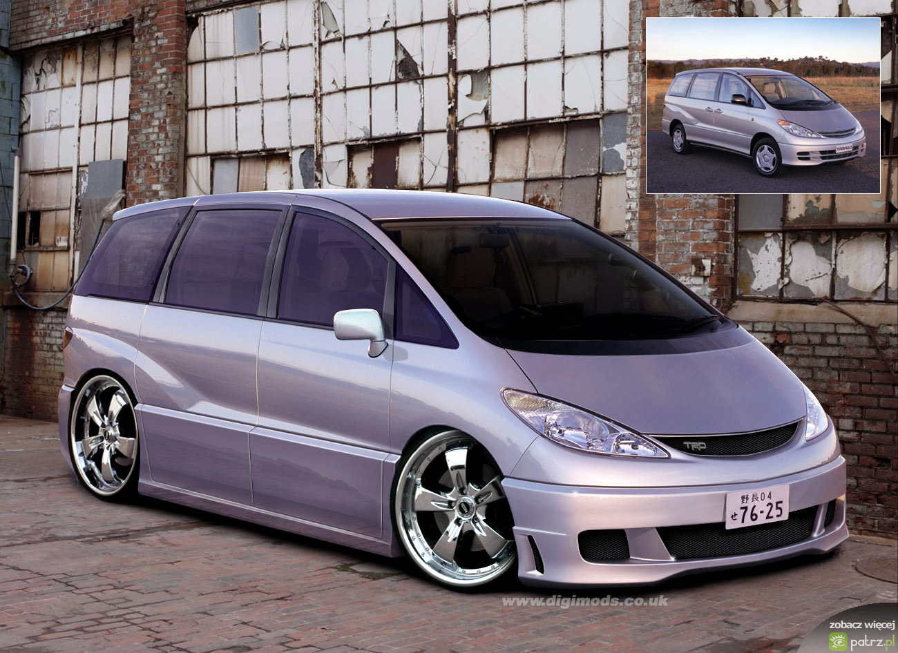 toyota previa tuning. Black Bedroom Furniture Sets. Home Design Ideas